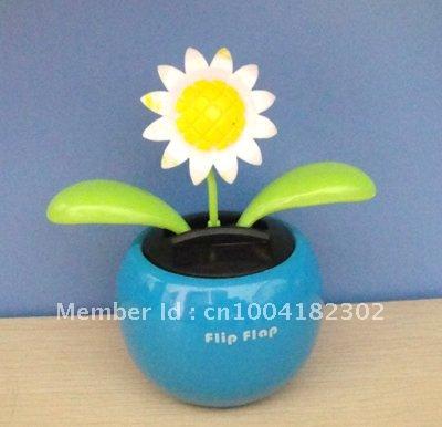15pcs per lot Free shipping novelty happy dancing solar gift(China (Mainland))