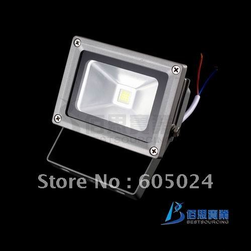 Special Offer Free shipping High Power 12V 10W LED floodlight,Cool White outdoor flood light lamp(China (Mainland))