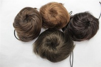 HAIR PIECE WIG Big Hair Piece Pieces Extension Wedding Bun Wig Extensions Scrunchie/Bun 30pcs/lot