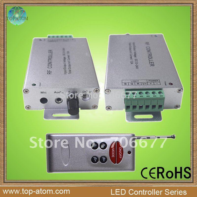 Retail sound music led controller RGB(China (Mainland))