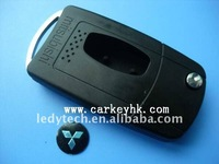 High quality Mitsubishi flip modified remote key blank