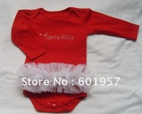 baby romper,Christmas gift,christmas rompers,santa baby rompers,baby clothing,infant wear12pcs/lot