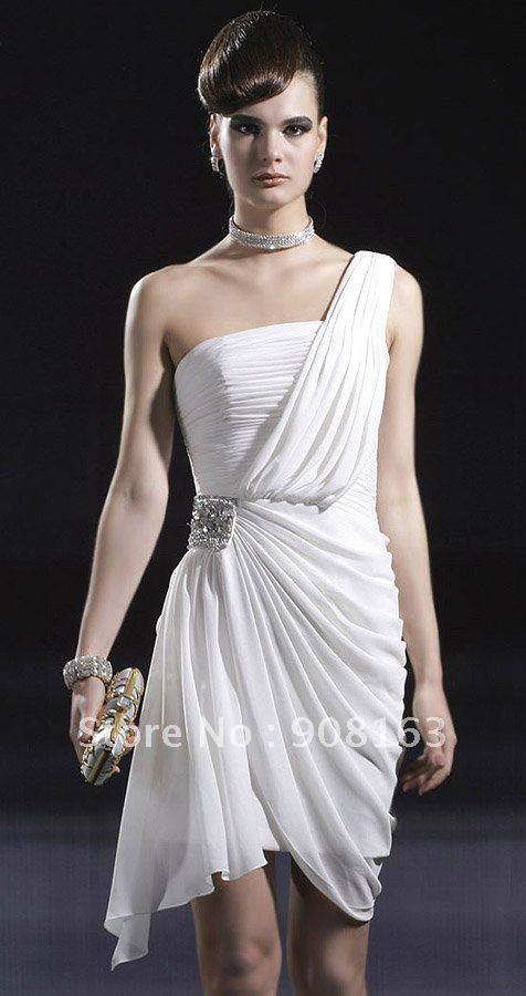 Designer White Evening Dresses - Long Dresses Online