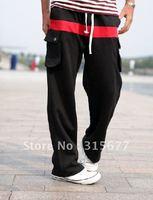 Мужские спортивные костюмы с капюшоном joging костюмы хлопка отдыха однотонный костюм жилет & брюки 4 цвета 4 размер yj398