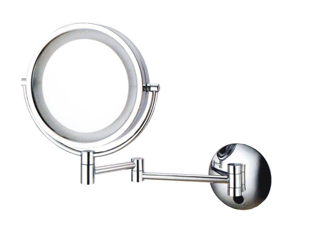 magnifying make up mirror led light 90v 260v 2w switch is rocky. Black Bedroom Furniture Sets. Home Design Ideas