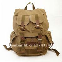 SLR DSLR Canvas Camera Rucksack Backpack Bag 3 color free shipping