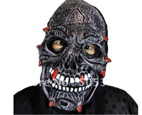5 pcs Costume party Halloween masks ghost masks screaming mask for costume ball 100g