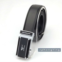 Free shipping 2011 New-Men's Septwolves Belts 100% Genuine Leather Auto black w20103 hot selling!