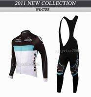 Free Shipping!! MEN'S WINTER CYCLING LONG JERSEY+BIB PANTS BIKE SETS CLOTHES 2011 CRAFT TREK-WHITE-SIZE:XS-4XL