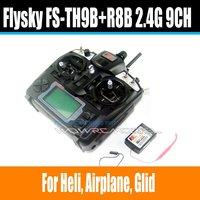 FlySky TH9X FS-TH9X-B FS-TH9B 2.4G 9CH Radio Set System ( TX FS-TH9B + RX FS-R8B) RC 9CH Transmitter + 8CH Receiver