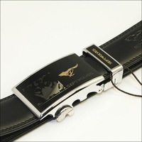 Free shipping 2011 New-Men's Septwolves Belts 100% Genuine Leather Auto black 791046310 hot selling!