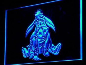 g062-b Eeyore Display Toys Gifts NEW Neon Light Sign