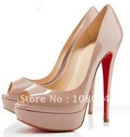 Wholesale - 2011 New style Women's shoes Women's high heel platform shoes nude / fashion high heel free shipping