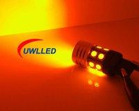 2pc / set 1156/BA15S CREE Q5 + 12 SMD Yellow Led Car Light 7w Turn Signal lamp
