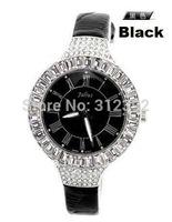 NO Fake Here! Free Shipping Julius Women's Wrist Watch Quartz Round Dial Leather Band Authentic Ladies Fashion Luxury JA-445