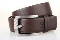 Free shipping 2011 New-Men's Septwolves Belts 100% Genuine Leather  brown 7A1206600 hot selling!