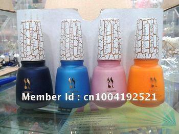 Nail polish,nail lacquer,nail enamel,nail color,crack,12colors,12pcs/set,free shipping