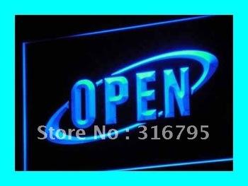i038-b OPEN NEW Cafe Restaurant Bar NR Neon Light Sign
