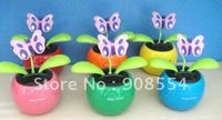 4.5'' Decorative  flower  flip flap 15pcs per lot Free shipping via  China post air mail  no battery no water