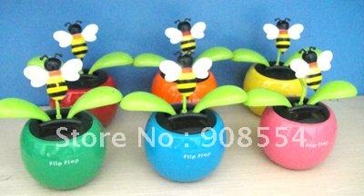 Solar Powered Dancing Flower India 4.5'' Solar Powered Dancing