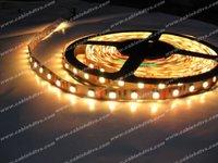 Yellow Flexible LED Strips Non-waterproof led ribbon 150leds SMD5050 5M led strip Christmas lighting,Christmas lights 10pcs