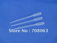 Free Shipping 100pcs/lot  3ml Plastic Transfer Pipettes Droppers Graduated , Mixing Plastic Pipette