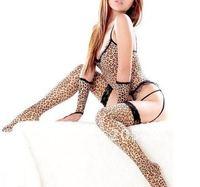Costumes Sexy underwear Teddies Leopard lingerie Set Club show Free shipping B-005