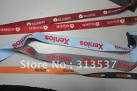 25pcs/lot 20mm*90cm free shipping custom lanyard sublimated polyester lanyard both side printed