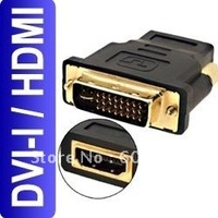 DVI I Male to HDMI Female Adapter Connector