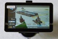 Free shipping, 7 inch Car gps Navigation HD FM,AV-IN,Bluetooth +4GB Card + Free Gifts
