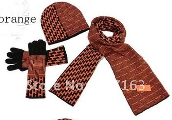 Guaranteed 100%best selling!new fashion wool scarf cashmere  scarves print Scarf, Hat & Glove Sets(orange) Free shipping
