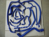 FULL SILICONE HOSE KIT RENAULT 5 GT TURBO PHASE 1 85-87 blue