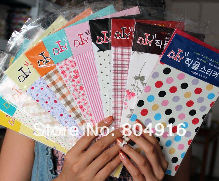 Cute Cartoon DIY Sticky Adhesive Gummed Tape Sticker(small) Many designs ST0658