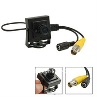 Free shipping Black Security Color Sharp CCD CCTV Mini Camera S51