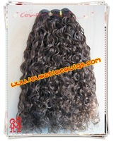 2011 New style Color #4 Indian remy hair extension wholesale