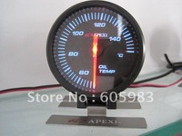 "2.5"" 60 MM auto gauge oil temp.meter"