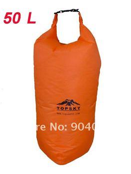 Waterproof Dry Bag 50L Kayak Canoe Floating Camp Orange
