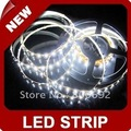Free shipping+ 5m 300LED  White 5050 SMD LED Flexible 300 LEDS Strip=5m