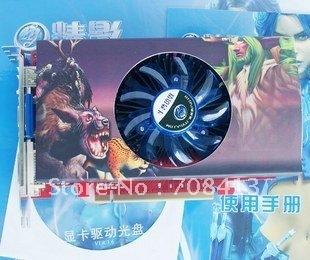 9600 GT 512 M fine drill edition 256 BIT HDMI DDR3 stock video card