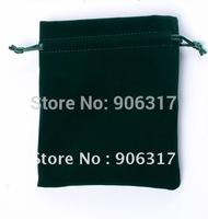 Black Soft Velour Bags size7*9cm; wholesale price 100pcs/lot,High quality