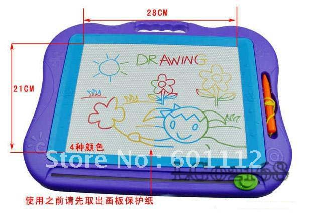 promotion! big size! ABC learning board, educational toy, Magnetic writting board, kids toy, children toy, Magnetic toy 2168(China (Mainland))
