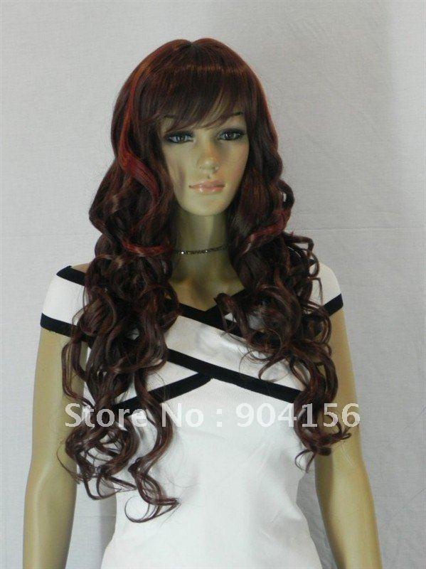 Colored Streaks in Red Hair Red Hair Streaked Brown