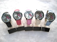 EMS Free Shipping Hello Kitty Watch + High Quality+Garantee 1 year