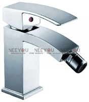 Free Shipping Solid Brass Chrome Finish Mixer Bidet Faucet NY02113