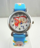 Kids watch made of silicon with free shipping,10pcs/bulk