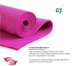 wholesale with designs tpe EVA foam sport yoga mats(China (Mainland))