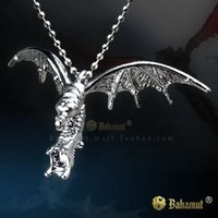 Free Shipping - StarCraft 2 II Zerg Mutalisk Silver Necklace/Pendants-Titanium Steel