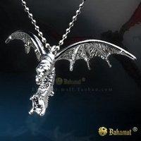 StarCraft 2 II Zerg Mutalisk Silver Necklace/Pendants-Titanium Steel Free Shipping Wholesale