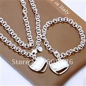 fashion jewelry,925 sterling silver Necklace & bracelet,925 jewelry,925 sterling jewelry,Brand New S83