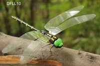 Charming 16x12.5cm Handicrafted Black Clay Dragonfly Car Fridge Magnet Sticker Home Decoration 100pcs Mixed Lot Free Shipping